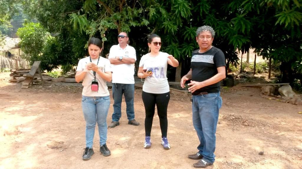 Equipe foi recebida pelo presidente da COOMIC Raimundo Lopes